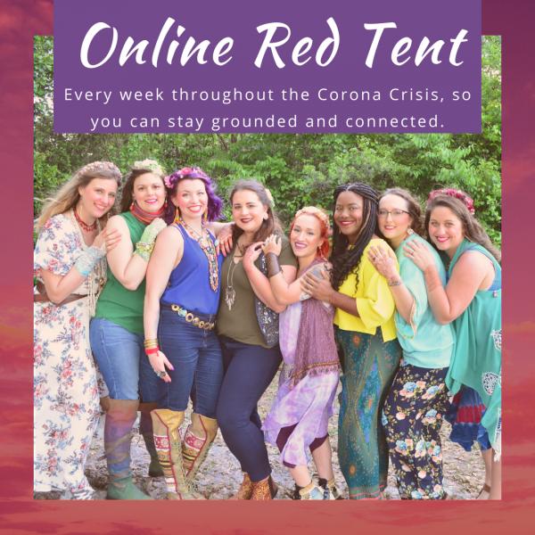 Red Tent Online events Texas San Antonio womanhood