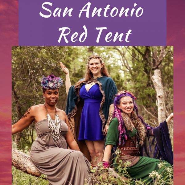 San Antonio Texas Red Tent women circle open faith